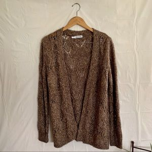 Maurices chunky knit open Sweater cardigan